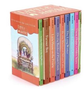 {Little House L-O-V-E} Little House picture books, early readers, and the classic chapter books all carry the same story lines. It is the perfect transition series for emerging readers. Check out this wonderful review of the collection. Do you have a favorite Little House book?