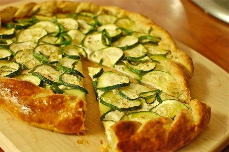 Zucchini and Ricotta Galette | Cookin' : Summer-time | Pinterest