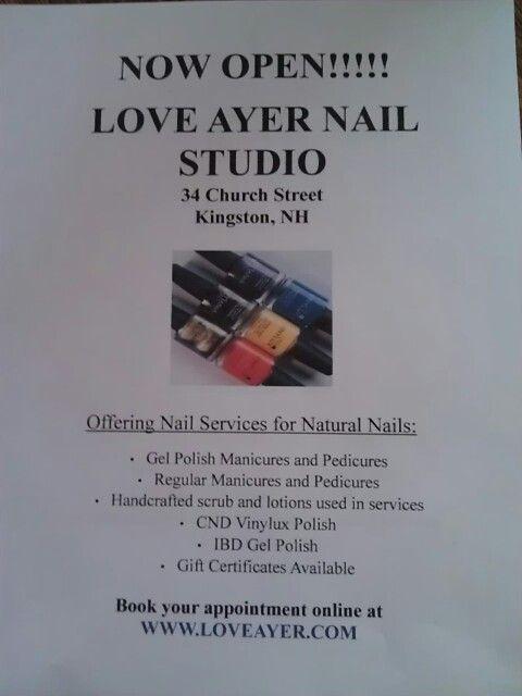 Nail salon flyer   Nails   Pinterest