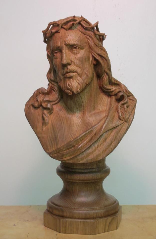 Patrick burke wood carving carvings pinterest