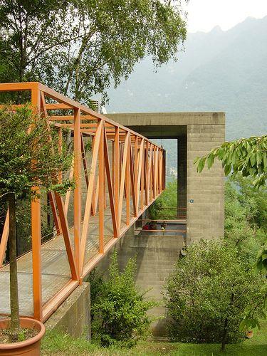 Casa Bianchi, Mario Botta. Riva San Vitale, Ticino, Switzerland 1971-1973