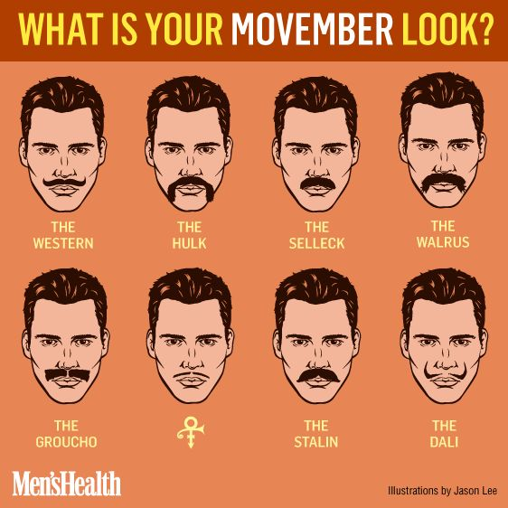 Quelle moustache pour Movember ?
