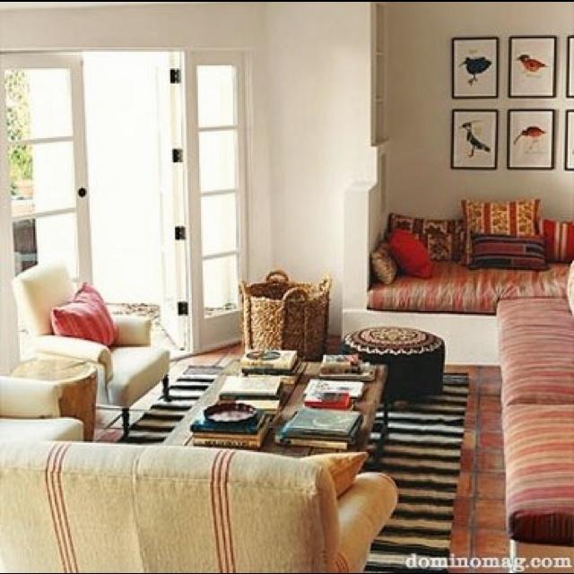 Boho Chic Living Room Style Home Decor Pinterest