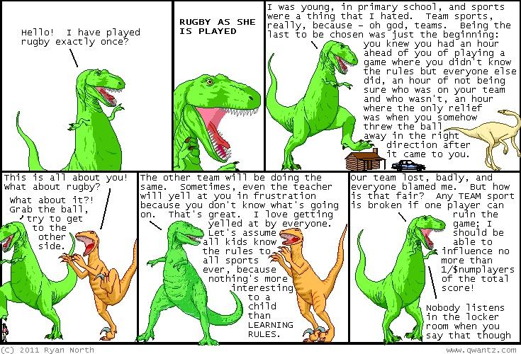I absolutely love dinosaur comics.