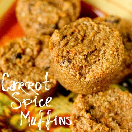 Carrot Spice Muffins
