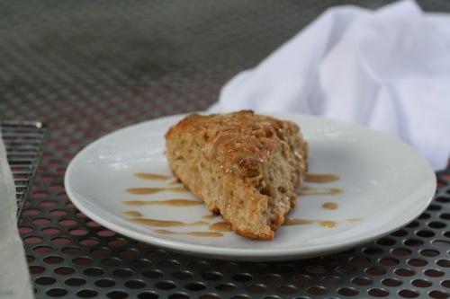 Banaba Bread Scones with Brown Sugar Glaze