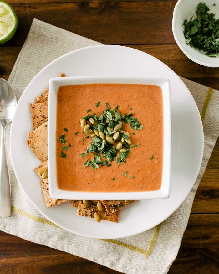 Simple Indian-Spiced Tomato Soup with Lime | Recipe