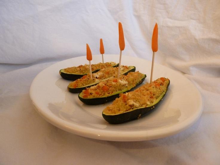 Zucchini Boats by @wsims #veggieworld