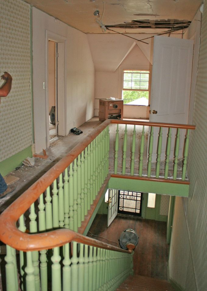Susanne Duda 39 S Farmhouse Stairs Remarkable Renovations