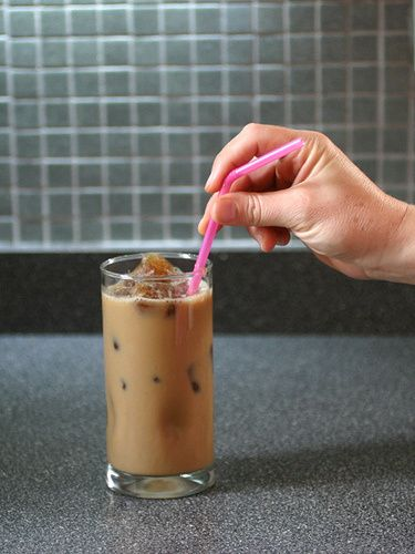 Perfect Iced Coffee : Fill a couple of ice cube trays with coffee ...
