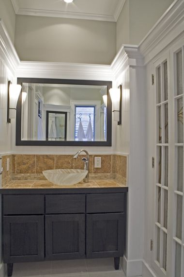 Vanity Alcove With Side Lights Bathroom Pinterest