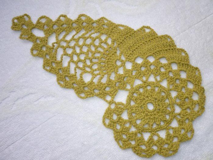 Free Crochet Paisley Motif Pattern : Paisley crochet Crocheting Pinterest
