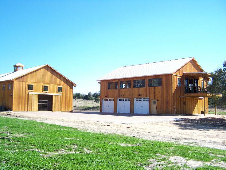 Gable pole barn home 3 car garage w pole barns pinterest for Pole barn garage homes