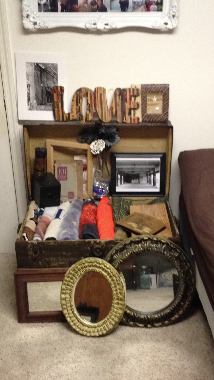 Decorate Using Old Trunks Decorating Ideas Pinterest