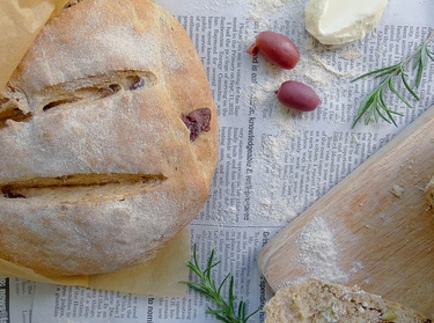 rosemary olive peasant bread | Recipes ~ Breads & Butters | Pinterest
