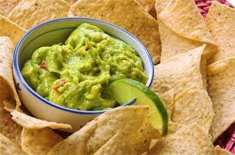 Simple Guacamole Recipe | Appetizers | Pinterest