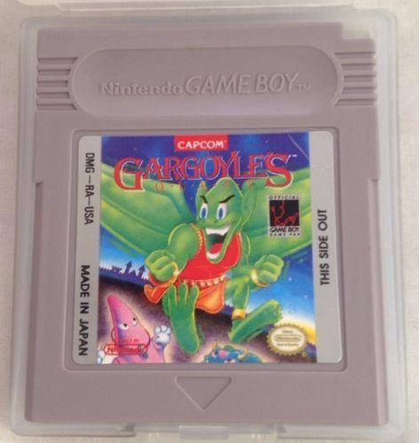 Capcom Gargoyle's Quest 1990 Original Game Boy Game Cartridge With