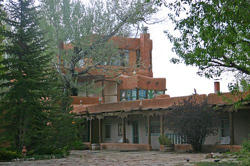 mabel dodge luhan house by kris k henderson on flickr. Cars Review. Best American Auto & Cars Review