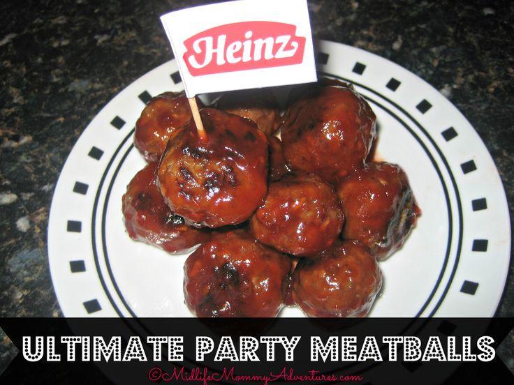 Johnsonville ultimate party meatballs | Nibbles | Pinterest