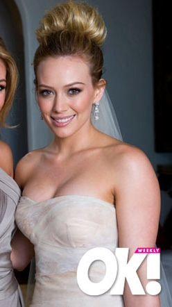 Hilary Duff Wedding Hair Tutorial | Top Hairstyles