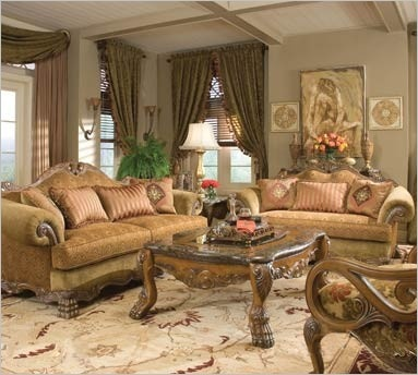 michael amini chateau beauvais living room collection