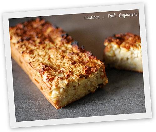 cake aux flocons d avoine et aux pommes recettes g 226 teaux tartes