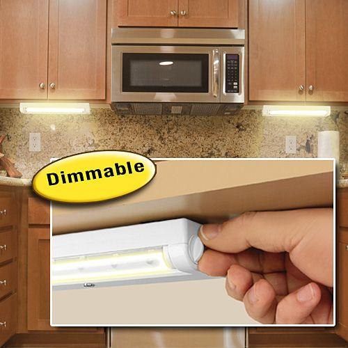 wireless under cabinet light for the home pinterest. Black Bedroom Furniture Sets. Home Design Ideas