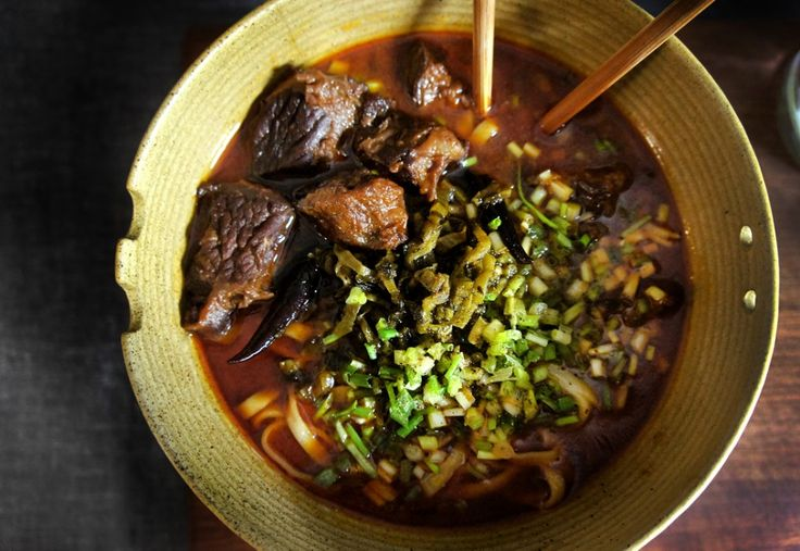 Taiwanese Beef Noodle Soup | Chinese Food | Pinterest
