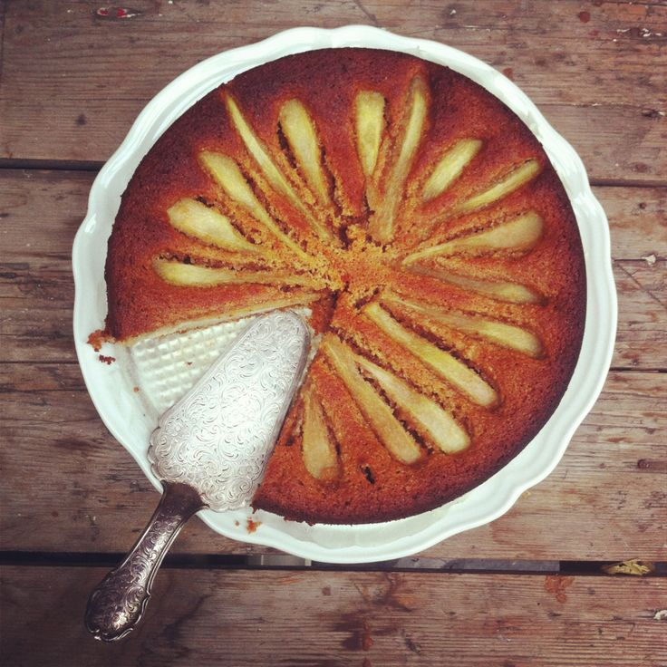Three-Tier Candied-Pecan Cake With Brown-Butter Pears Recipe ...