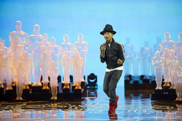 "Pharrell William's infectious performance of ""Happy"""