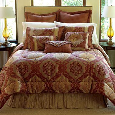 chris madden positano 7 pc comforter set accessories jcpenney