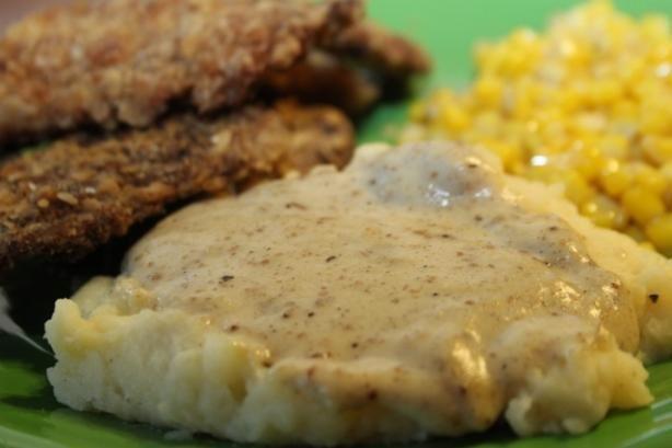 Cream Gravy for Chicken Fried Steak (Light). Photo by ~Nimz~