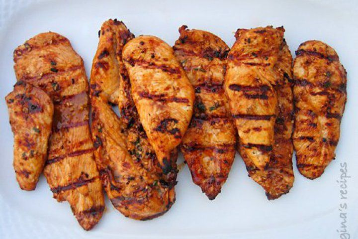 Asian Grilled Chicken | Food | Pinterest