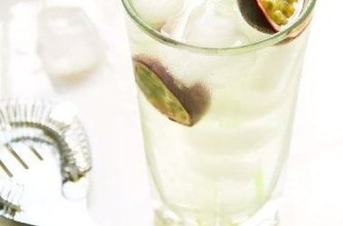 Thai Basil Infused Passionfruit Collins Recipes