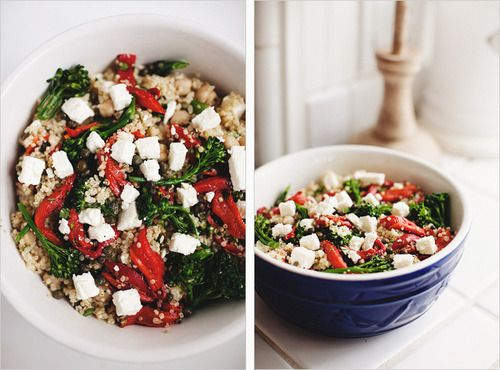 Mediterranean Quinoa Bowl | Recipes | Pinterest