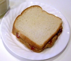 Peanut Butter Cup Grilled Sandwich Recipe