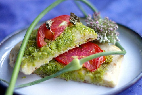 Garlic scape pesto | NomNomNom | Pinterest