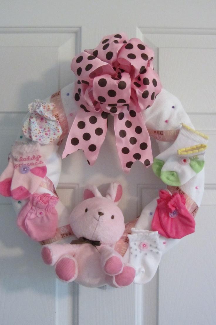 baby shower wreath shower ideas pinterest