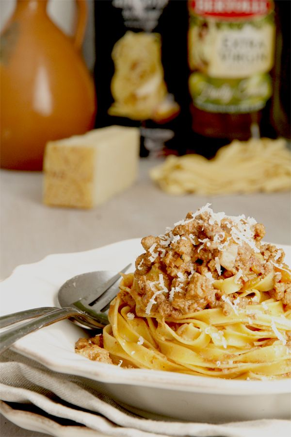 Authentic Bolognese | Italian Food | Pinterest