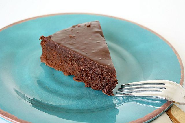 Almost-Fudge Gateau by Tracey's Culinary Adventures, via Flickr