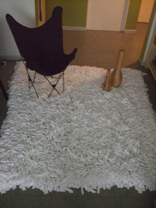 Hacer tu alfombra de diseño, peluda o de tiritas, es gratis : VCTRY's BLOG