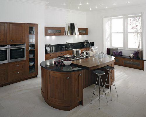 Round Kitchen Island Bar Kitchen Pinterest