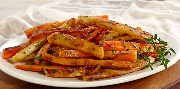 Barista Balsamic Roasted Root Vegetables | Delicioso: Sides & Appetiz ...
