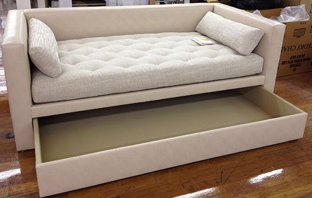 porter trundle divan sofa bed pinterest