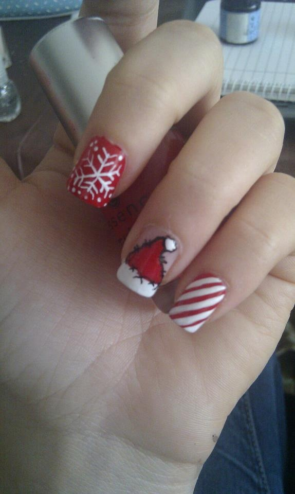 Christmas Decoration Nails