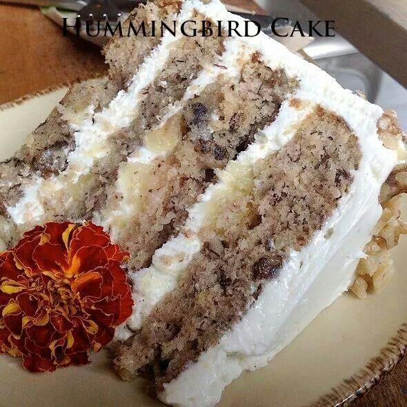 Hummingbird cake | recipes | Pinterest