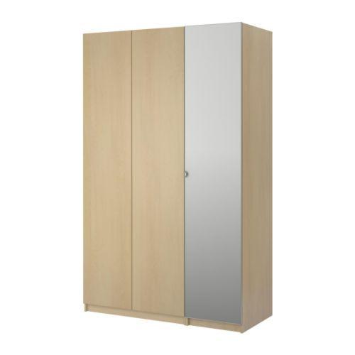 Ikea Küchen Unterbauleuchte ~ PAX Wardrobe with 3 doors  Nexus birch veneer, birch effect, 59×23 1