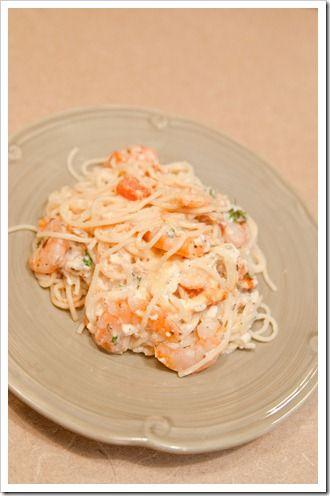 Spicy Shrimp & Noodles, yum!