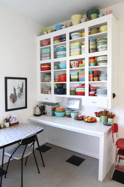 Kocham wszystkie zabytkowe Pyrex i ceramiczne z czystym, białym ostry!