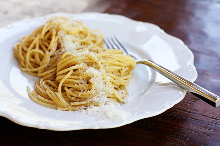 pasta with browned butter and parmesan | Sweet Anna's